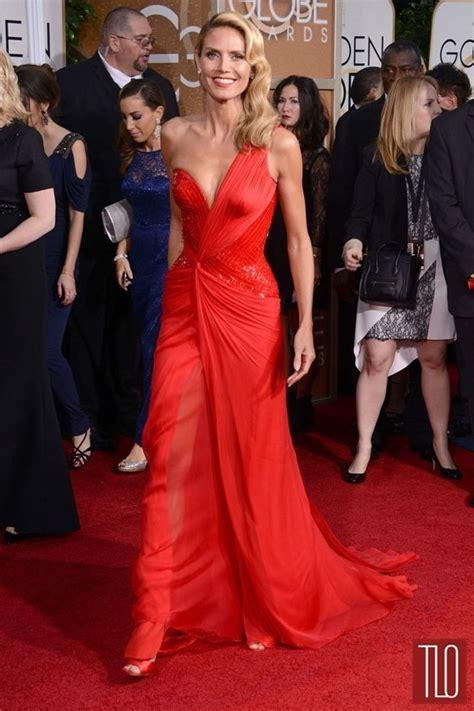 Golden Globes Heidi Klum Atelier Versace Tom