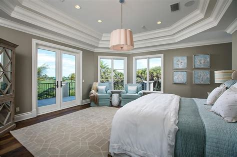 Tiffany Ceiling Fan Lights by Traditional Master Bedroom With Crown Molding Amp Hardwood