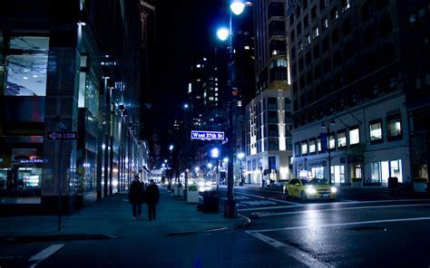light the night nyc urban city night wallpaper