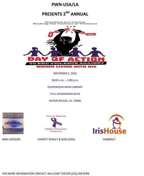 2016 Day Of Action Events