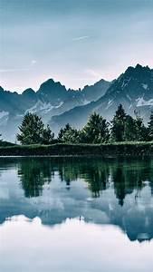 Wallpaper, Mountain, Lake, Trees, 4k, Nature, 16728