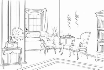 Deco Interior Line Classic 1920 Voor Sofa