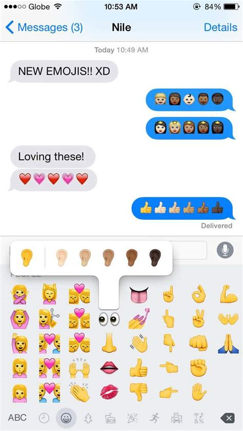 emoji update iphone cheers to diversity iphone updates emoji skin color