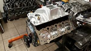 High Performance 350 Small Block Chevy Engine Machine Work