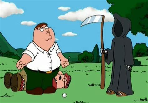 Family Guy Images Peter And Death Golfing Wallpaper And