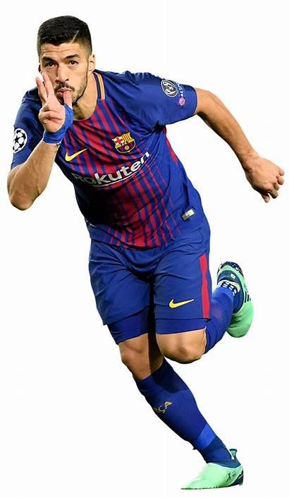 Suarez Luis Render Footyrenders Football Barcelona Cut