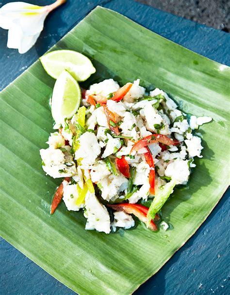 cuisine mauricienne recettes salade de poisson à la mauricienne travel food les délices de l 39 île maurice à table