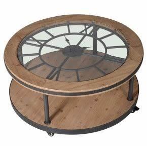 Table Basse Horloge : tables basses pour votre d coration de salon ~ Teatrodelosmanantiales.com Idées de Décoration