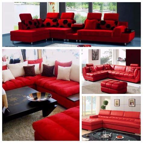sofa de canto puff vermelho 60 salas sof 225 vermelho incr 237 veis modelos como