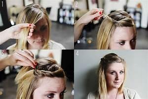 Tuto Coiffure Cheveux Court : tuto coiffure cheveux courts femme ~ Melissatoandfro.com Idées de Décoration
