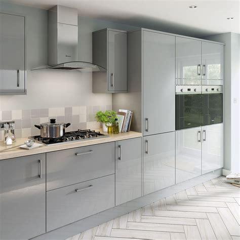 Hygena Kitchen Cupboards by Simply Hygena Chancery Grey Kitchen Modern Kitchens In