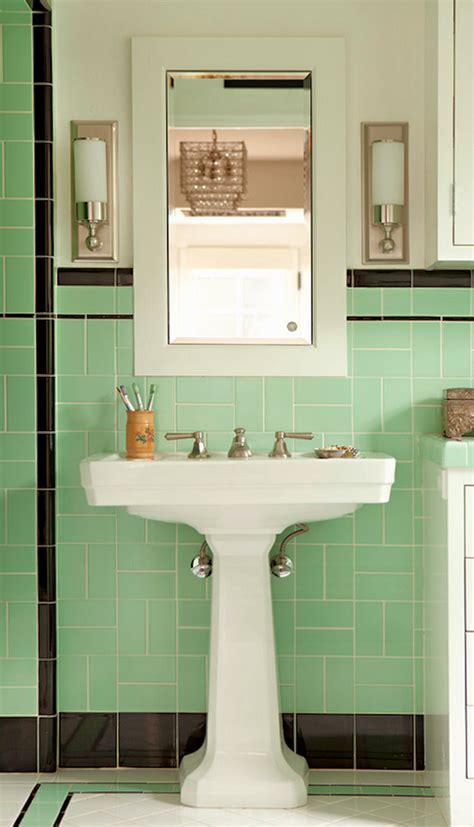 Bathroom Colors And Decor by Deco Style Subway Bathroom Deco 1930s Bathroom