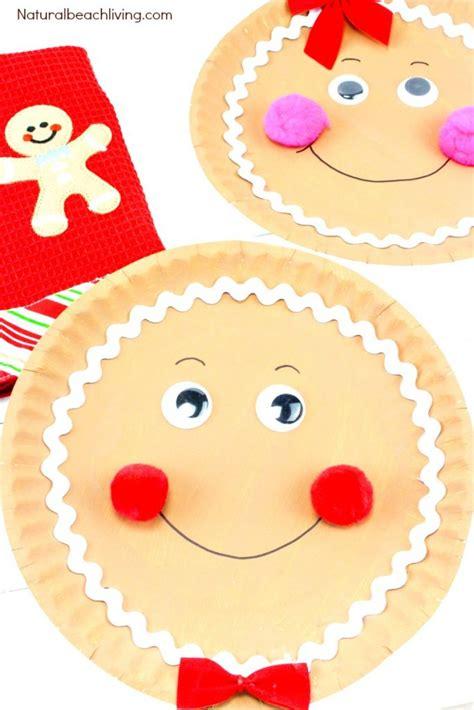gingerbread paper plate craft natural beach living