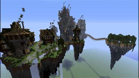 minecraft mcgansterhans floating steampunk islands  youtube