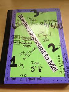 Decorating Math Notebook Ideas