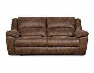 Simmons upholstery phoenix mocha double motion sofa home for Simmons sectional sofa covers