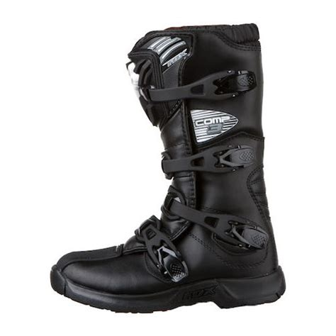 fox youth motocross boots fox racing youth comp 3 boots revzilla