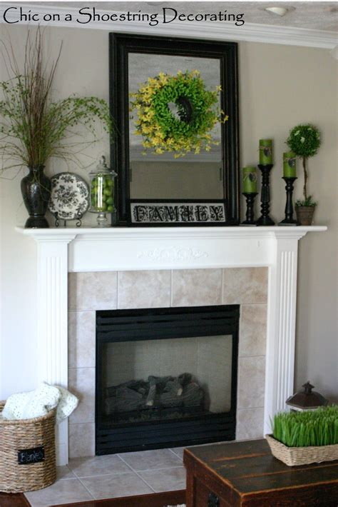 Ideas For Mantels by Mantel Decorating A House A Home In 2019 Home