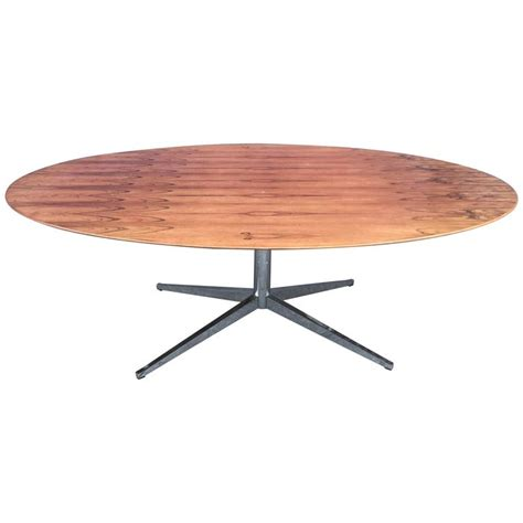 florence knoll table desk florence knoll oval table desk in bookmatched brazilian