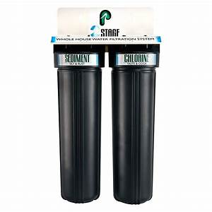 Pelican Water 2 Stage Whole House Water Filtration System