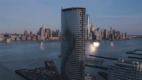 Ellipse Building Jersey City  Drone Video Youtube