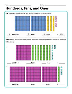 practice place value ten thousands worksheet education