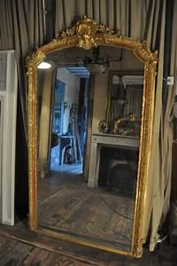 Miroir Vénitien Ancien : miroir ancien cadre feuille or louis xv ~ Preciouscoupons.com Idées de Décoration