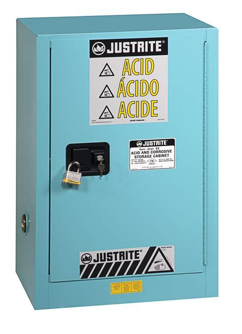 justrite 896002 sure grip ex corrosives acid steel safety