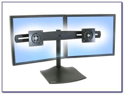 ergotron ds100 dual monitor desk stand ergotron standing desk dual monitor desk home design