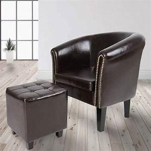 Chesterfield, Armchair, Studded, Back, Stylish, Tub, Chair, Stool