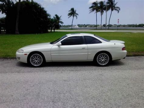 lexus coupe white sell used 1995 lexus sc400 base coupe 2 door 4 0 pearl