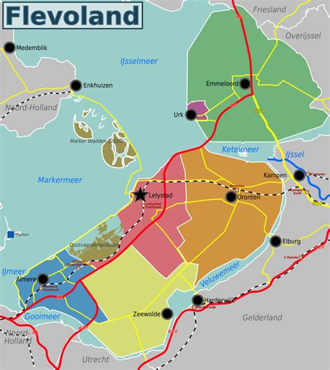Flevoland – Travel guide at Wikivoyage