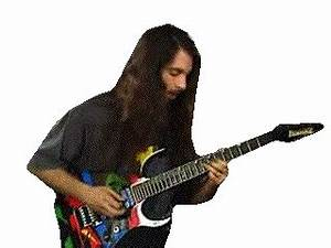 Musicians Playing Music, Strumming Guitar Animations