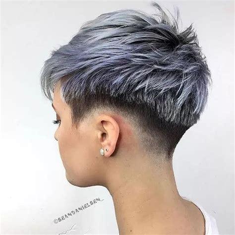 choppy haircuts  short hair  crazy colors