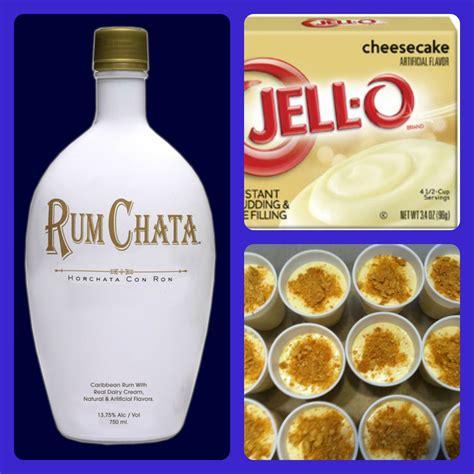 rumchata recipes rumchata cheesecake pudding shots