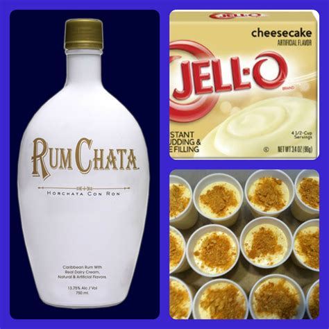 One by one, whisk in each egg until combined. Rumchata Cheesecake Pudding Shots