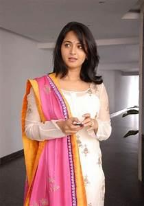 Anushka In Damarukam In White Dress   www.pixshark.com ...