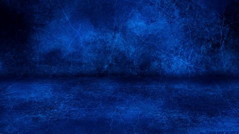 blue grunge wall  floor loopable intro background stock