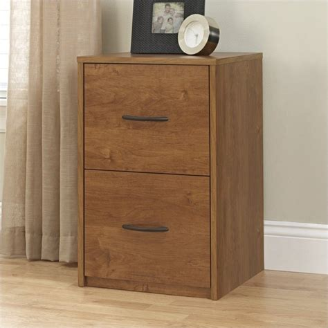 2 Drawer Wood Vertical File Cabinet In Oak  9524301pcom