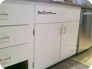 Adding Trim to 1960s Cabinets Hometalk