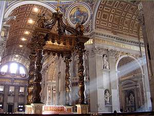 BERNINI- His mark on St. Peters Basilica | maItaly