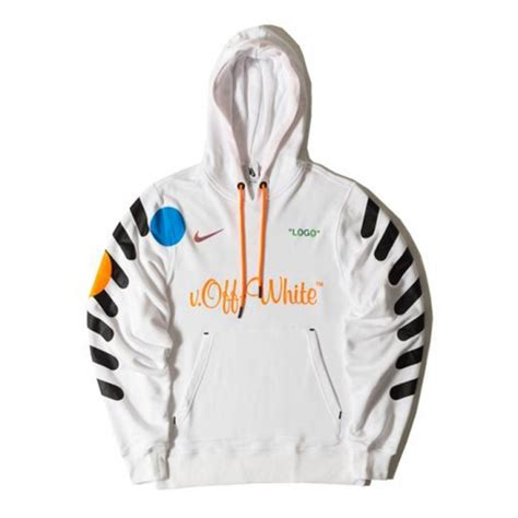 nike   white hoodie white