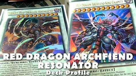 red dragon archfiend resonator deck synchro just like