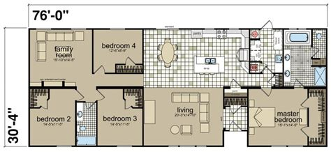 hillcrest iv titan factory direct champion homes mobile home floor plans bathroom