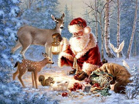 christmas santa claus hd wallpapers pictures images photos