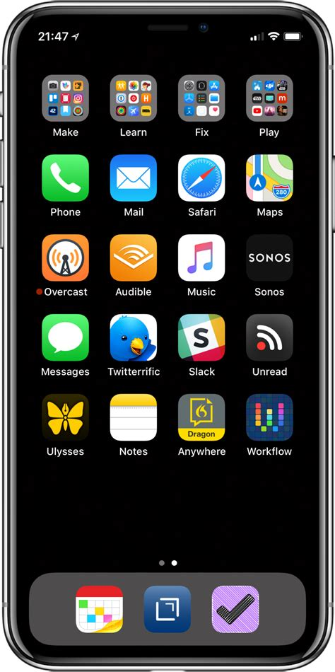 how to display iphone on mac my iphone home screen 2018 edition macsparky 1045