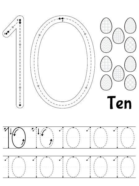 number   images kindergarten math worksheets