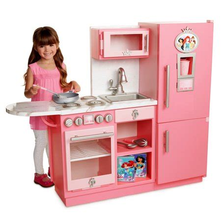 walmart kitchen set for disney princess style collection gourmet kitchen walmart