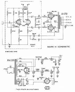 Dynaco Dynakit Mark Iv Tube Amplifier Schematic In 2019