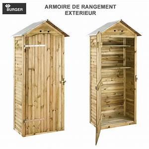 Armoire De Rangement : armoire de rangement de jardin 90 x 58 x 204 cm 0100539 burger 8 ~ Teatrodelosmanantiales.com Idées de Décoration